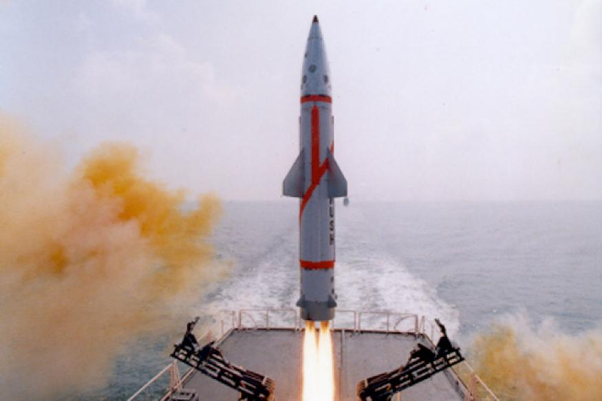 India tests Prithvi missile's naval version Dhanush