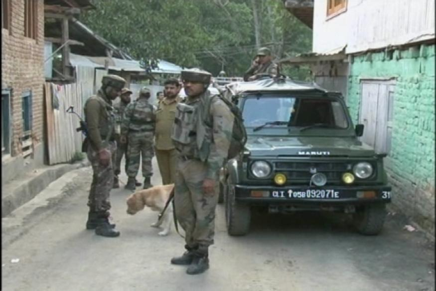 J&K: Encounter between militants, security forces