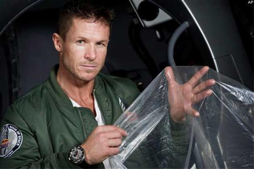 Felix Baumgartner hopes to make supersonic jump