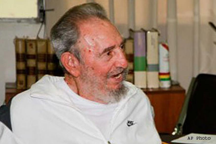 Fidel Castro reportedly makes first public appearance in months