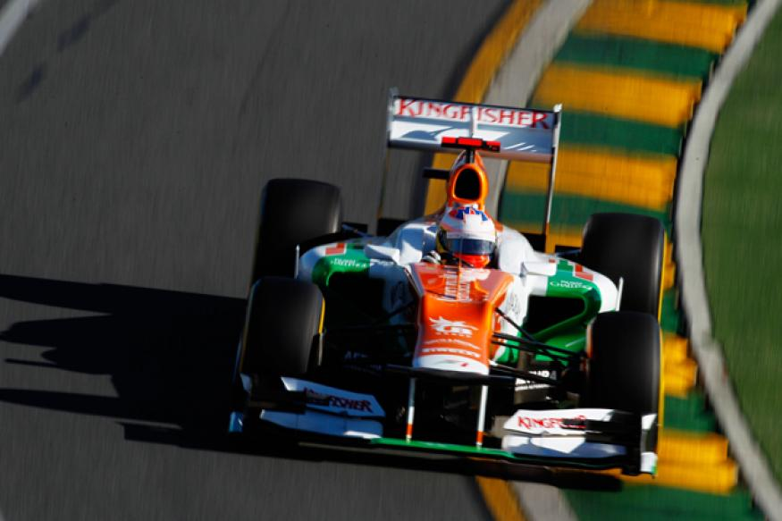 Sahara Force India a happy unit with four points