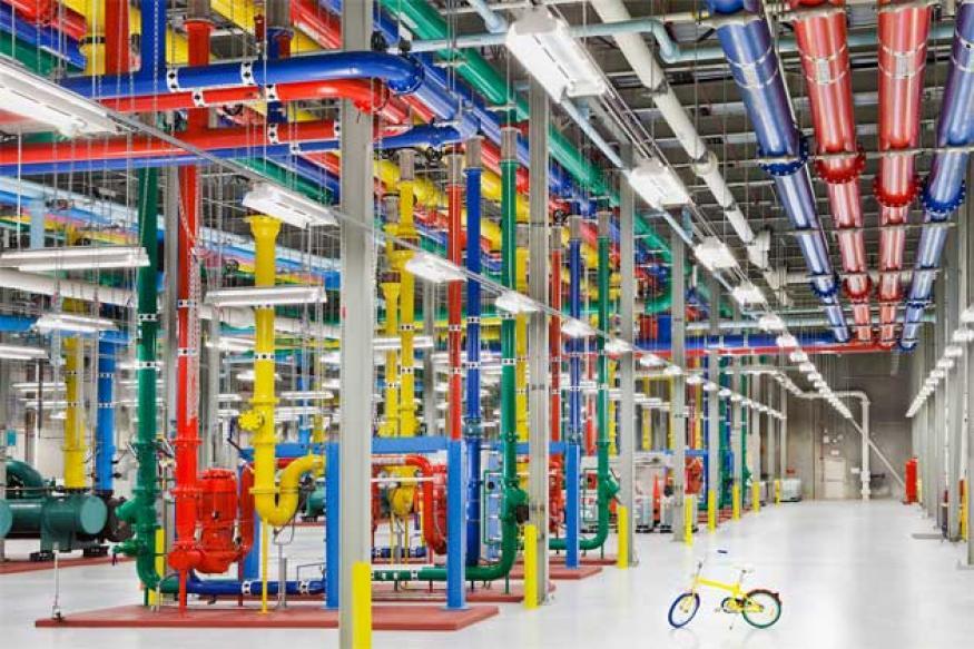 Google opens window into secretive data centres