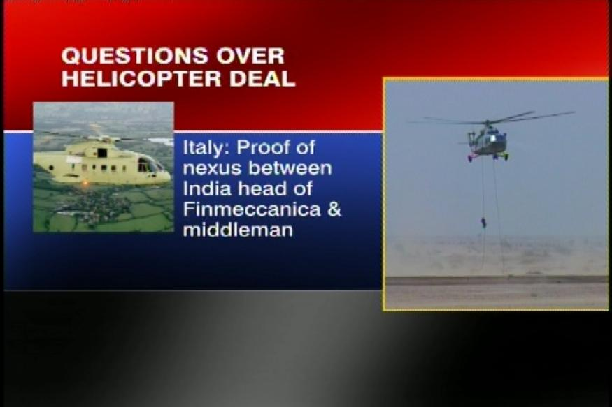 Sale of Augusta Westland helicopters to IAF under scanner