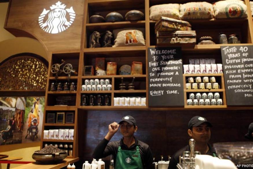 Starbucks opens first India store in Mumbai