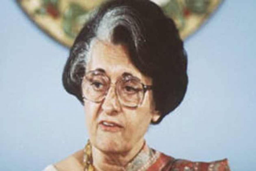 Homage paid to Indira Gandhi on her death anniversary