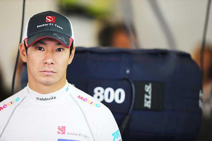 Kobayashi seeking sponsorship to stay in F1
