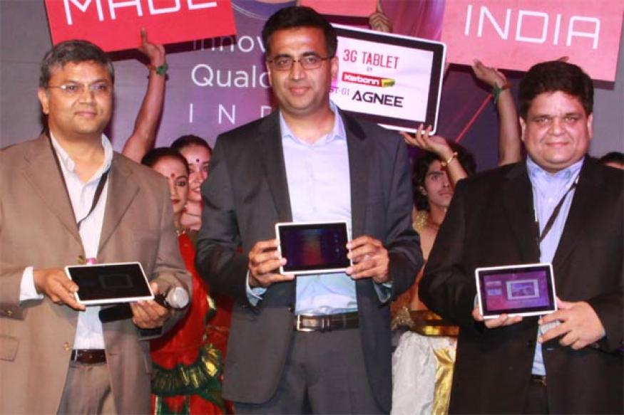 Karbonn unveils 3G Android tablet 'Agnee'