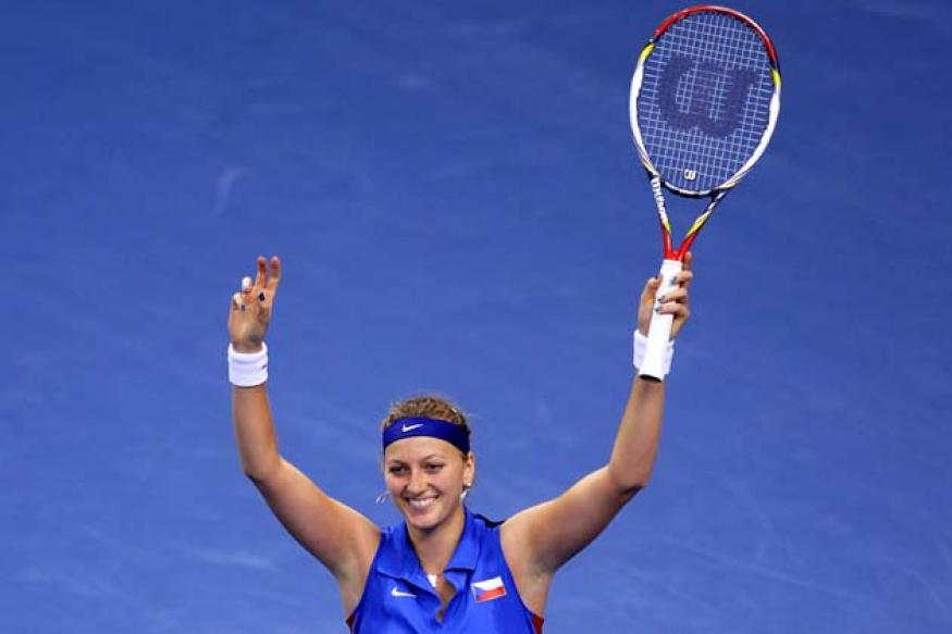 Kvitova to lead Czechs in Fed Cup defence