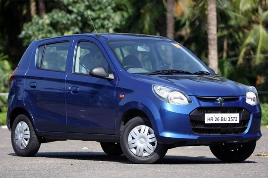 Maruti launches Alto 800, has over 10,000 pre-orders