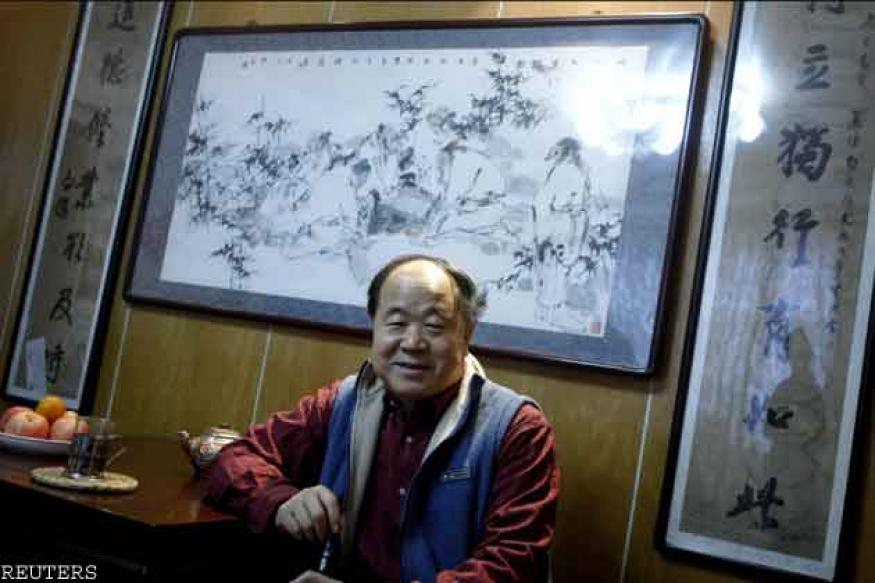 Chinese writer Mo Yan wins Nobel Prize in Literature