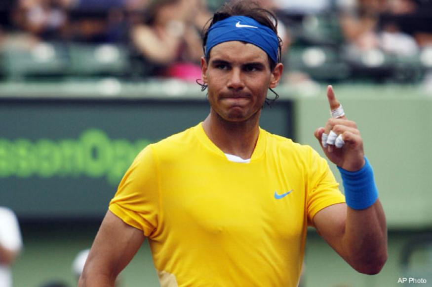 Not in a rush to return, says Nadal