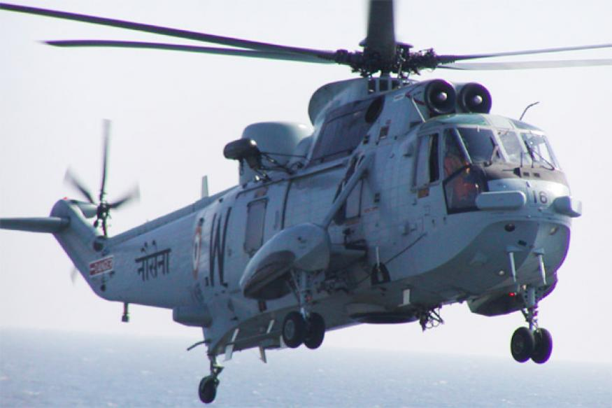 Goa: Navy helicopter crashes, three dead