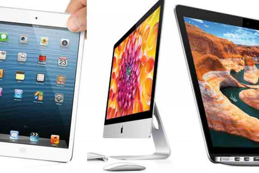 Apple iPad Mini, 4th gen iPad, new iMac and more