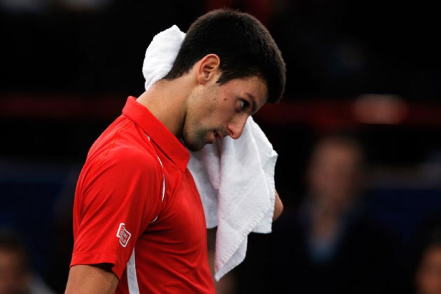 Djokovic crashes out of Paris Masters