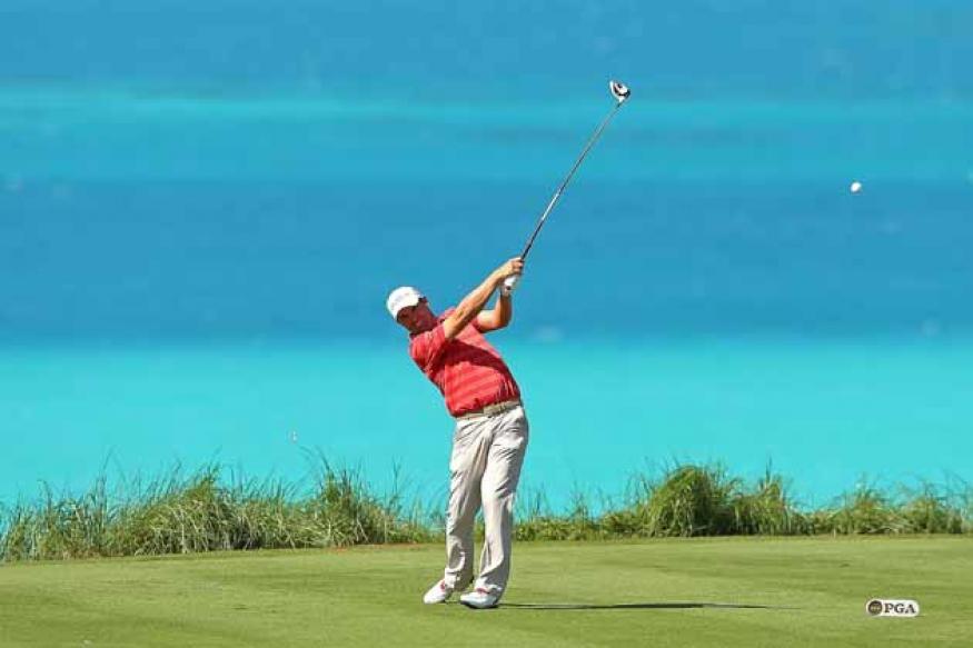Harrington wins PGA Grand Slam on 3rd try