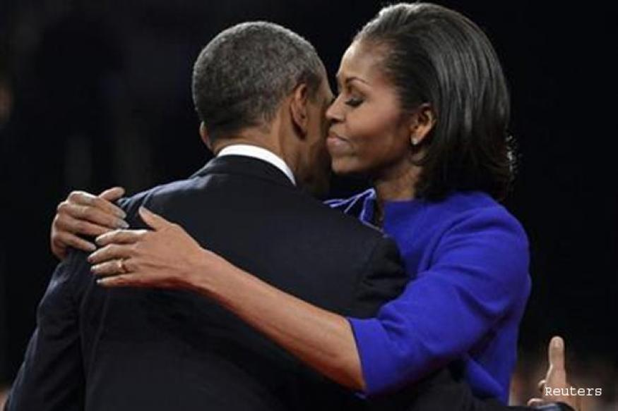 Delayed by debate, Obamas finally mark 20th anniversary