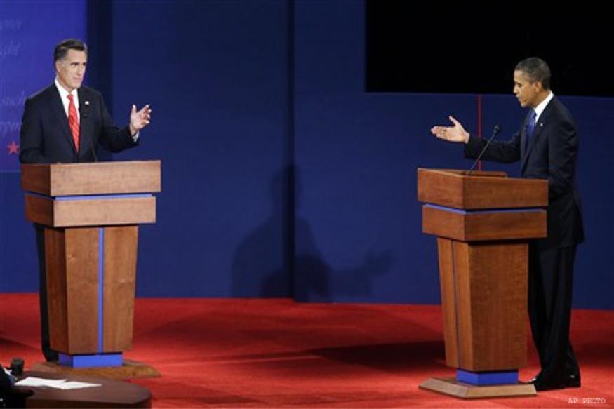 Analysis: Romney's aggressive debate cheers GOP
