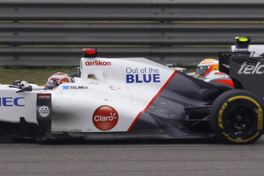 Sauber to size up Esteban Gutierrez at Abu Dhabi test