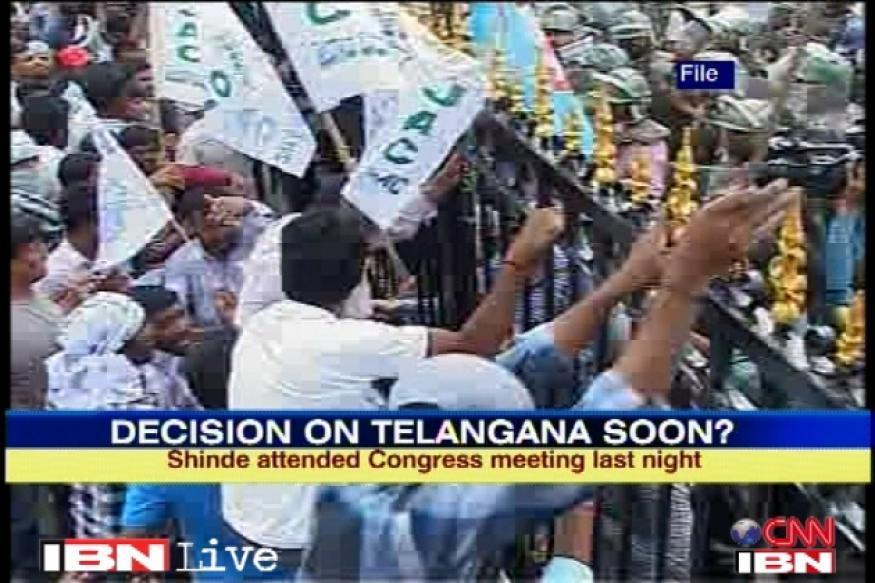 Telangana: Shinde meets President, decision soon