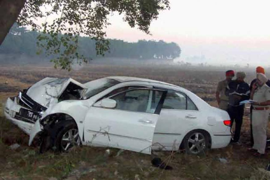 Snapshot: Jaspal Bhatti's car that met with the accident