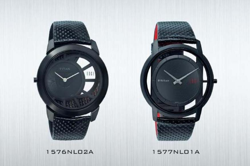 Titan launches the lightest Edge watch