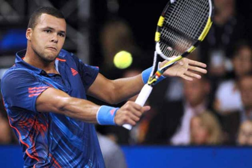 Tsonga to face Berdych in Stockholm Open final