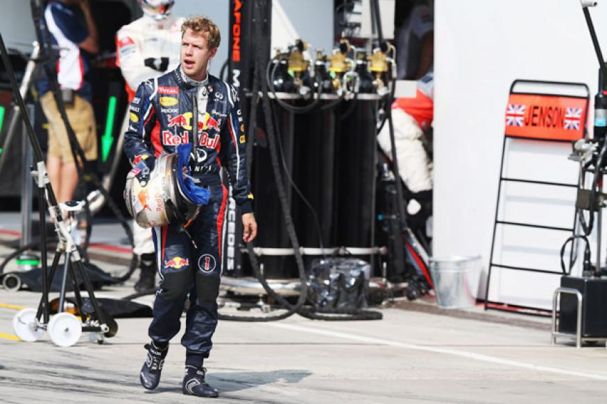Sebastian Vettel tops final practice as well at Indian GP