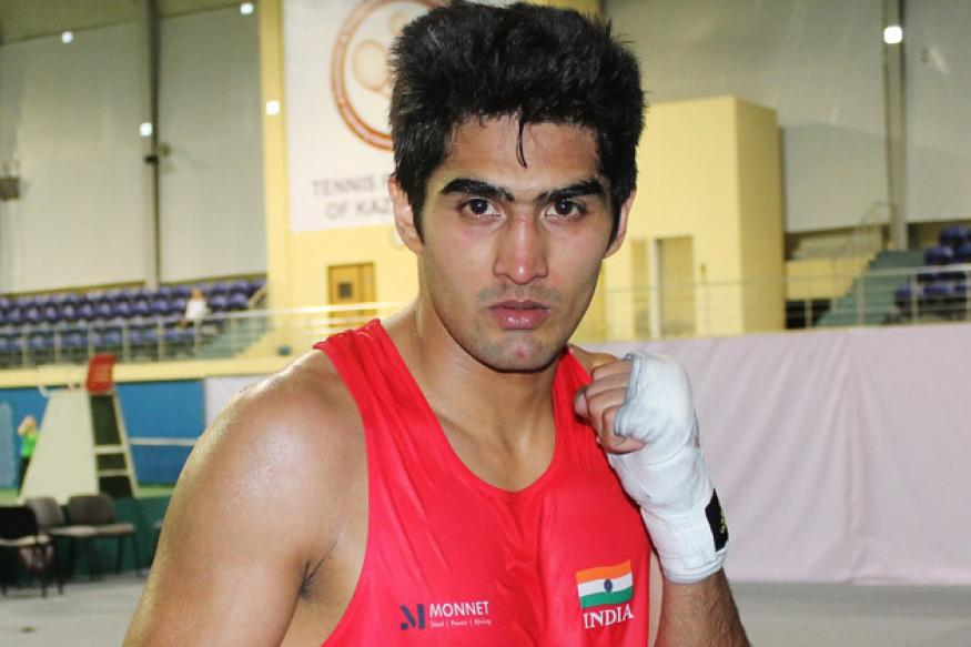 Heavyweight Vijender to debut at World C'ships