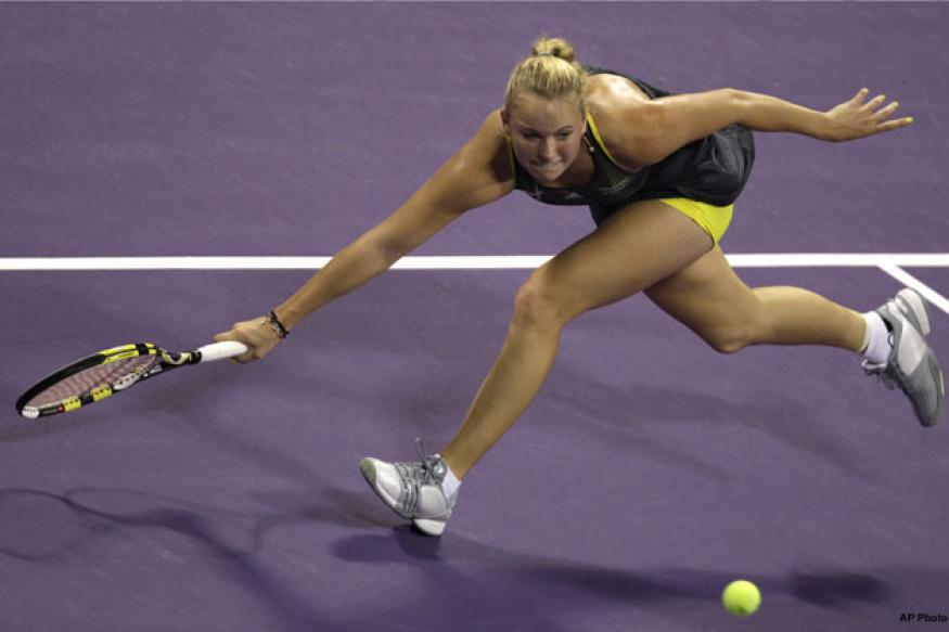 Wozniacki beats Cibulkova to make Kremlin semis