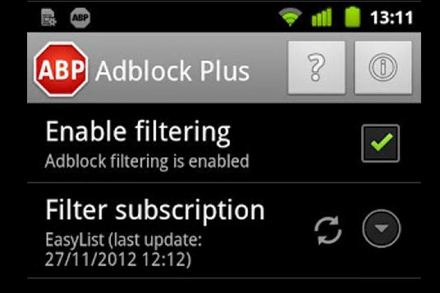 Adblock Plus now available for Android