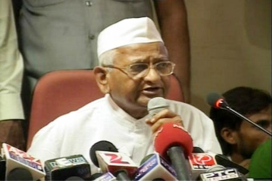 National campaign against corruption from Jan 30: Anna
