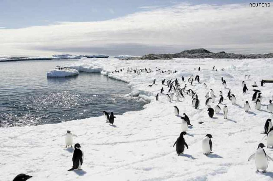 'Antarctic sea ice increasing with climate change'