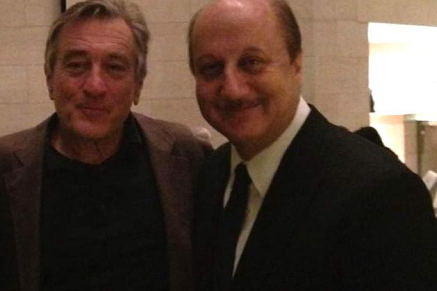 Silver Linings Playbook: Kher bonds with De Niro