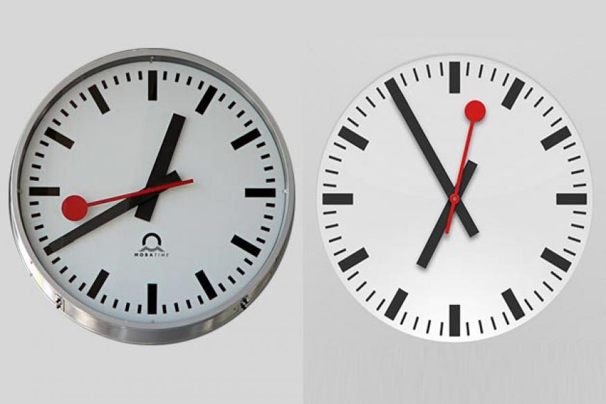 Apple pays $21 mn to use Swiss railway clock design