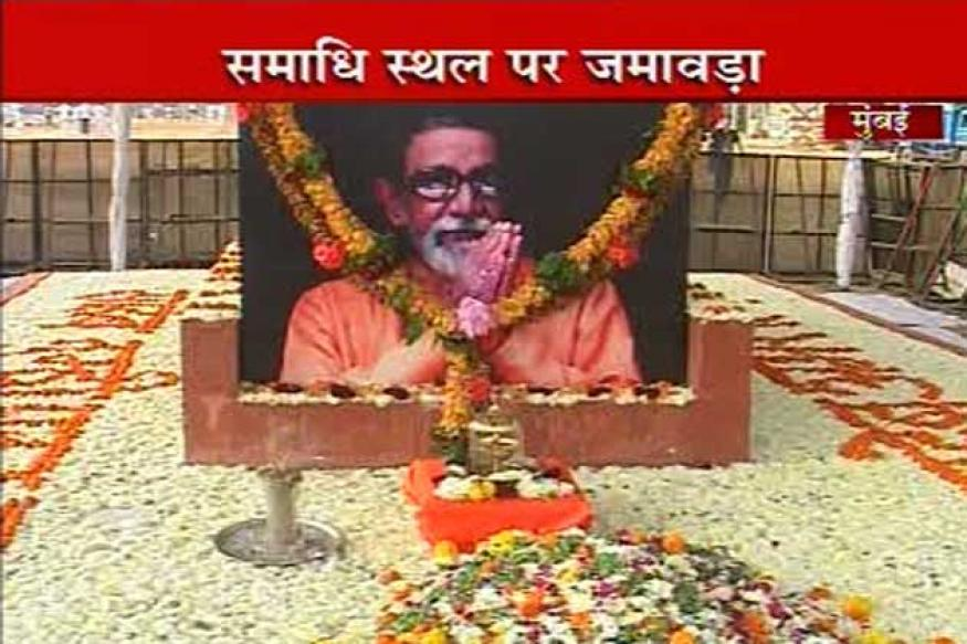 Thackeray memorial: Shiv Sena guards Shivaji Park