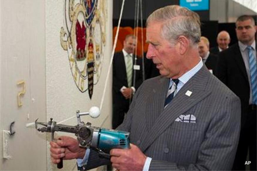 Man charged with planning Prince Charles assault