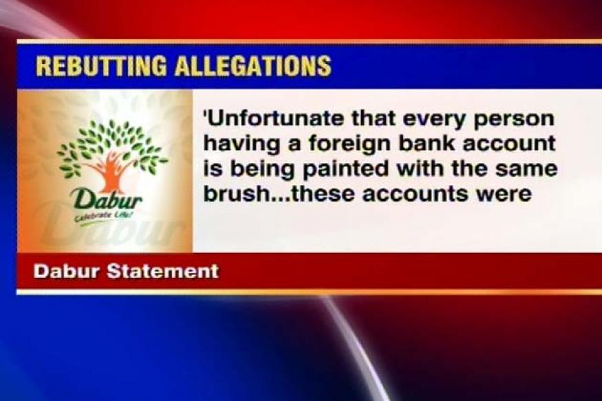 Accounts in foreign banks as per law, says Dabur India