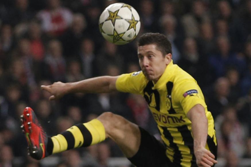 Dortmund thrash Ajax 4-1 in the Champions League