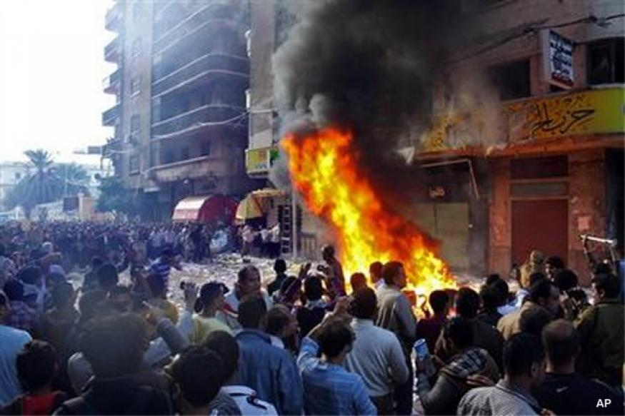 Clashes in Egypt after president expands powers