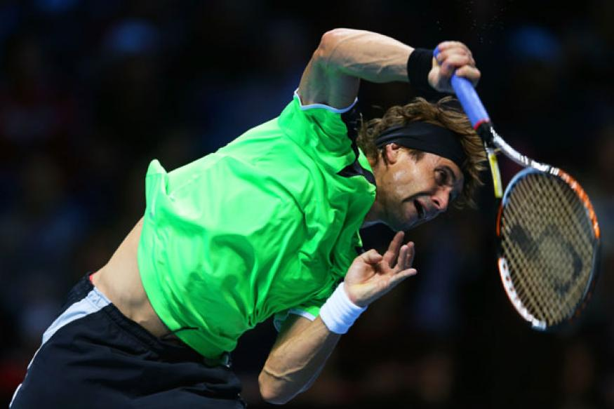 David Ferrer beats Janko Tipsarevic in London