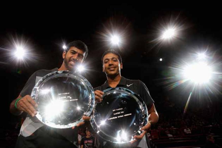 Bhupathi-Bopanna pair wins Paris Masters final