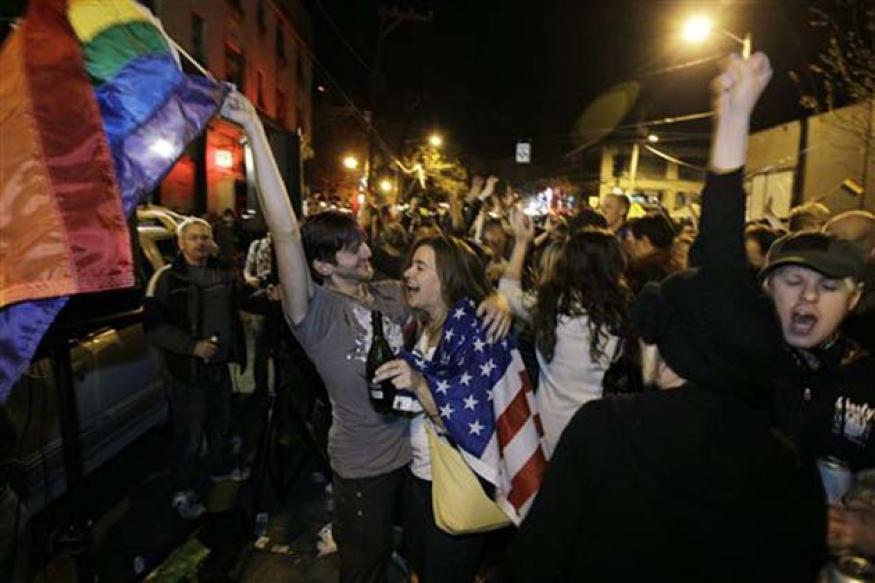 US: Gay-marriage backers end losing streak