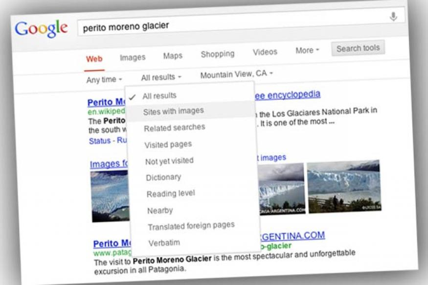 Google gives its search results page a new look