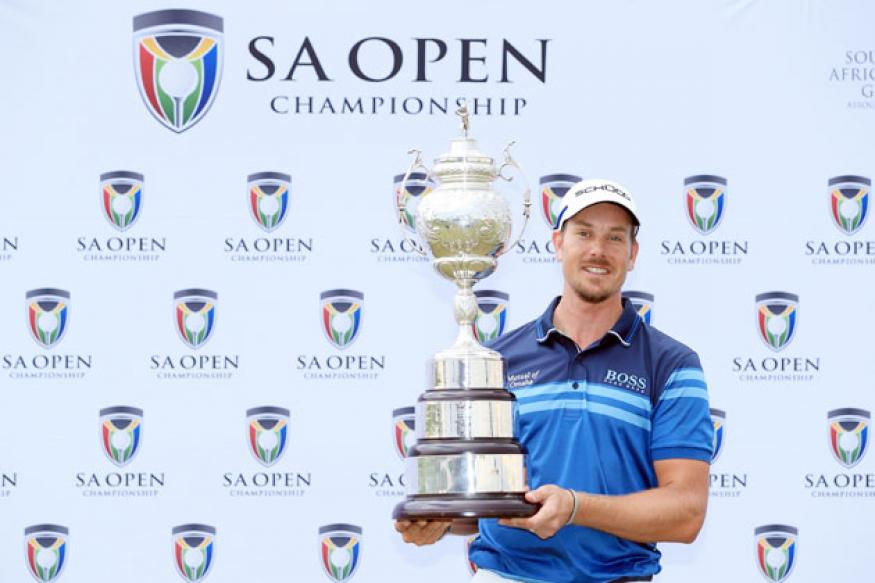 Golf: Henrik Stenson wins South Africa Open
