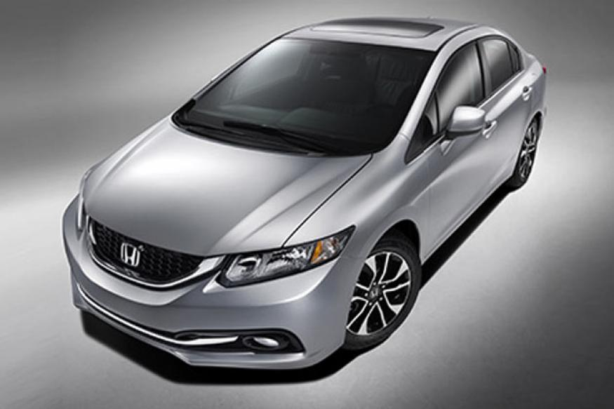 Honda unveils the new 2013 Civic