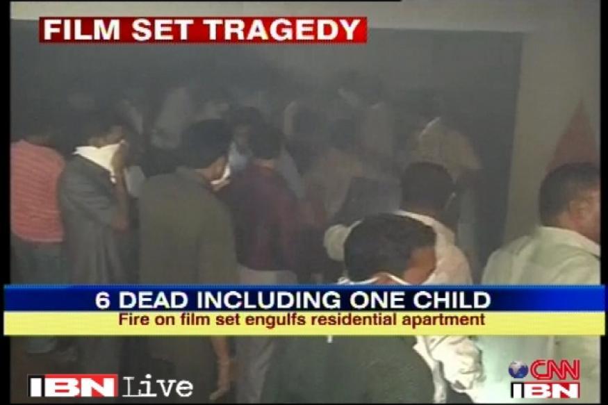 Hyderabad film set fire: AP CM orders probe