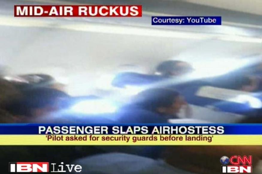 IndiGo passenger who slapped air hostess sent to custody
