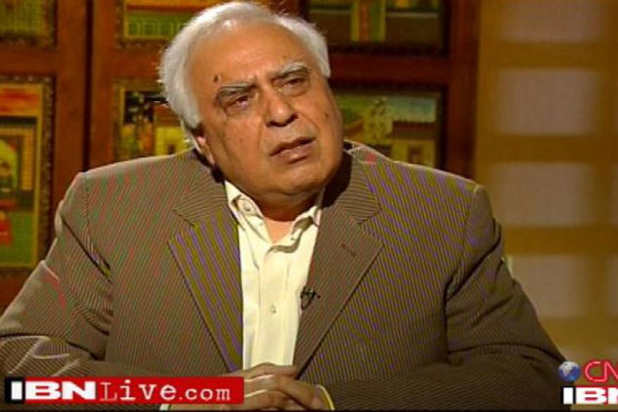 Kapil Sibal's personal website hacked