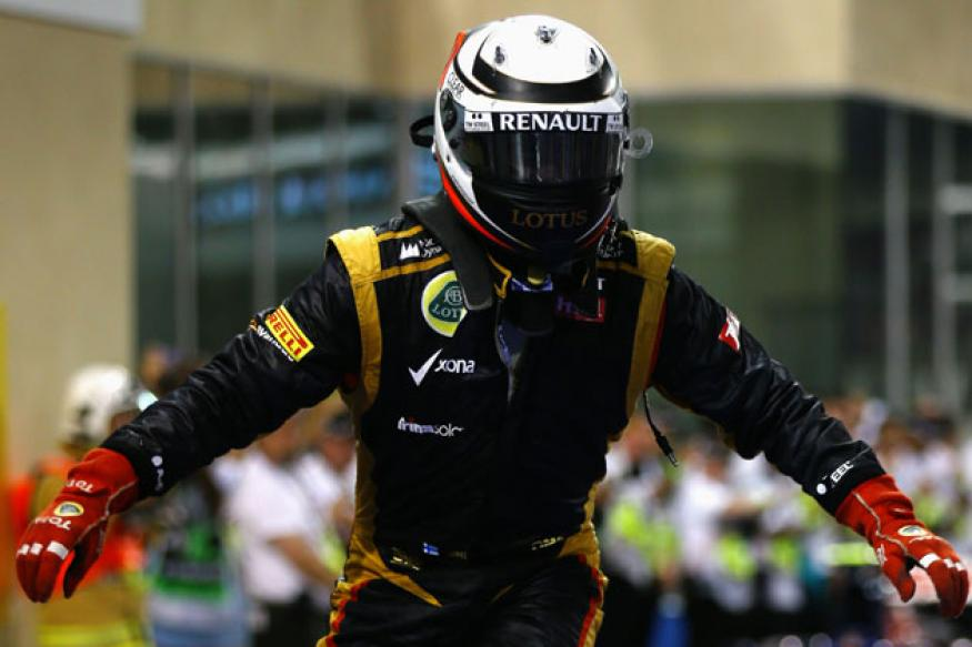 Kimi Raikkonen wins Abu Dhabi Grand Prix