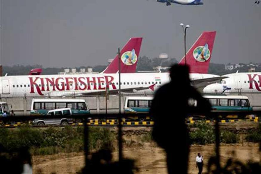 Kingfisher Airlines loss widens as revenue plummets
